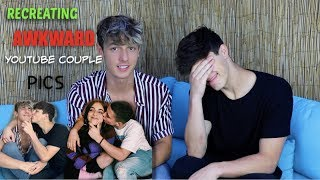 Recreating Awkward Youtube Couple Pics w/ Tayler Holder