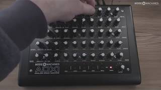 NEW ADX-1 VIDEO! MODE MACHINES ADX-1 SOUND DEMO