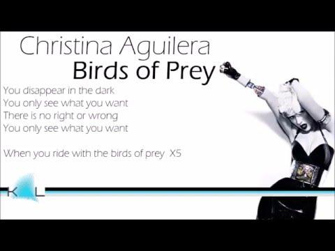 Christina Aguilera - Birds of Prey (Karaoke/ with Lyrics)