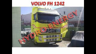 Volvo 420 tır hidrojen yakıt tasarruf cihaz montajı