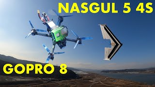 IFlight NAZGUL5 4S with Gopro 8 black FPV Chasing FT Flat Arrow 5inch Quad