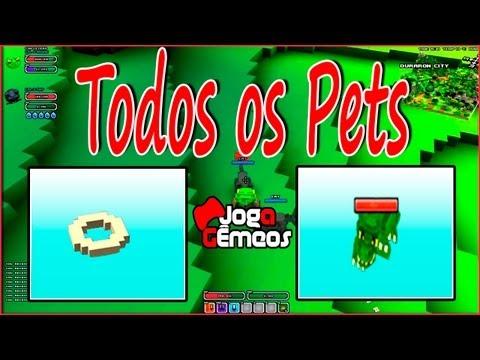 Cube World - Todos Pets e Itens. Pet Food X Pets 2016