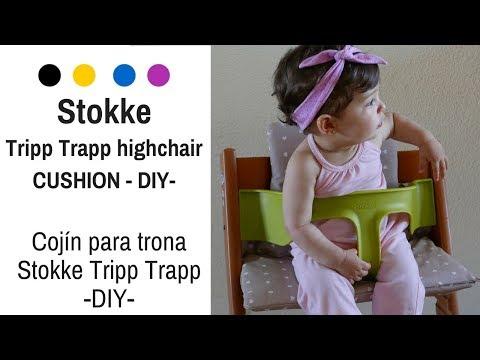 Cómo hacer una funda cojín para trona Tripp Trapp Stokke || ¡¡¡ Fácil !!!