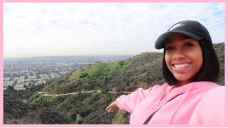 48 HOURS IN LA: LIT SKATE PARTY, HIKING RUNYON CANYON, AND MY BEACH WORKOUT ROUTINE...
