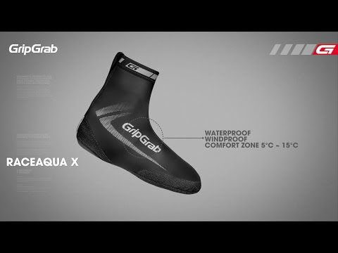 GripGrab RaceAqua X MTB skoovertræk video