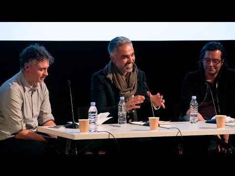RCA Visual Cultures Lecture Series:  Cunningham and Lahoud Q&A