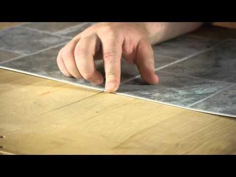 How to Install Linoleum Square Tiles : Let's Talk Flooring
