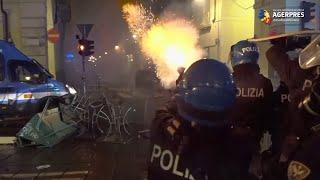 Coronavirus: Scene de gherilă urbană în mai multe oraşe italiene din cauza restricţiilor antiepidemice