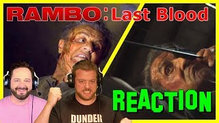 Rambo: Last Blood - Teaser Trailer | REACTION | The Movie Cranks
