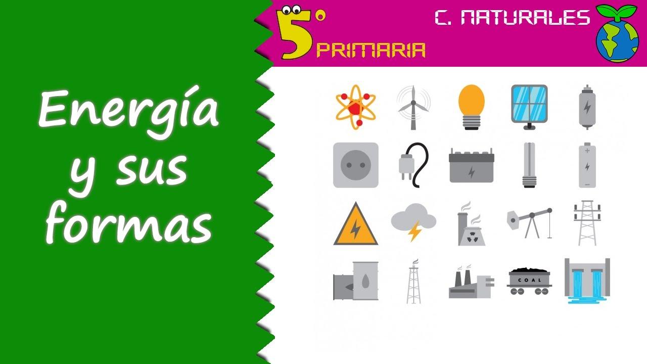Energía y sus formas. Naturales, 5º Primaria. Tema 2
