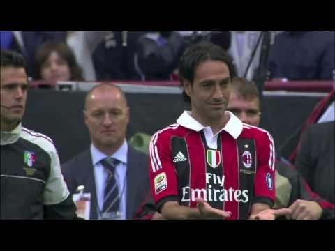 Last match at Milan for Gattuso, Nesta, Inzaghi, Seedorf, Zambrotta and Van Bommel