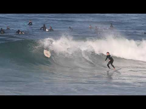 Fun sunny waves at Ders