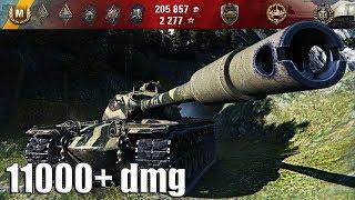 Как играет САМЫЙ КРУТОЙ ТВИНК на T110E5 🌟🌟🌟 11000+ dmg World of Tanks максимальный урон Т110Е5
