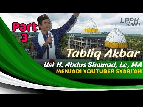 Menjadi Youtuber Syariah | Tabligh Akbar UAS di Hidayatullah
