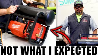 New Milwaukee M18 FUEL AIR COMPRESSOR IS NOT WHAT I EXPECTED!