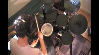 Theo Saenger - Chimaira - Frozen In Time, drum cover