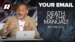 Your Email: Why manual transmissions are rare in the U.S. | Cooley Explains