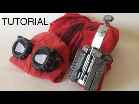 Tutorial l Spiderman homemade suit l Spiderman Homecoming