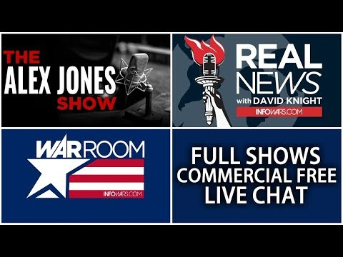 📢 All Shows From Today Commercial Free ► Alex Jones Infowars • Tuesday 4/24/18