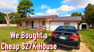 We Bought a Cheap $27K 4 Bedroom with 1 Acre in Oklahoma