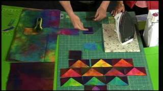 Quilting Tutorial - One Seam Flying Geese Quilt Block