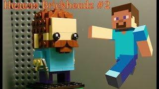 Неделя Brickheadz - день 2 - Стив из майнкрафта