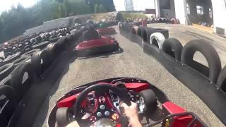 preview picture of video 'Go Kart @ Vilsbiburg (17.08.2013) - Aufwärmrunde'