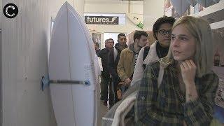 Visita à Fabrica da Xhapeland marca o inicio do ano do Projecto Surf Social Wave