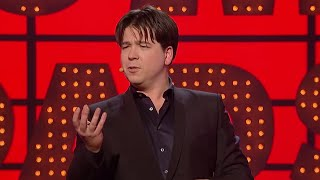 Michael McIntyre changing the clocks | Michael McIntyre's Comedy Roadshow | BBC Comedy Greats