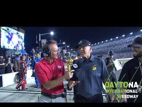 Joe Gibbs emotional after Hamlin's Daytona 500 win