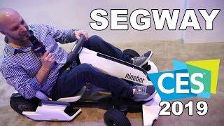 SEGWAY at CES 2019! Ninebot Gokart, Loomo, Drift W1 e-Skates, and more!