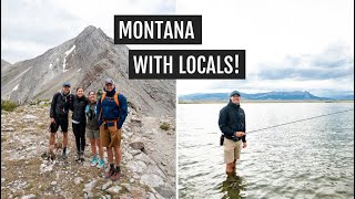 Hiking the Rocky Mountain Front in Montana + our first time fly fishing!