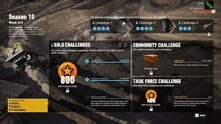 Season 10 Week 4 Solo Challenge 2 - Ghost Recon Wildlands