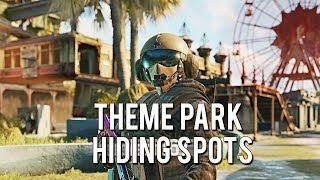 Theme Park Map Hiding Spots | Rainbow Six Siege Tips And Tricks