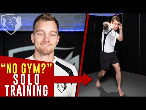 No Gym? Memorize this 6-Step Solo Footwork Drill - YouTube