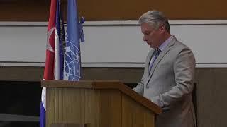 Discurso de Miguel Díaz-Canel, Presidente de Cuba, en el 37 período de sesiones de la CEPAL