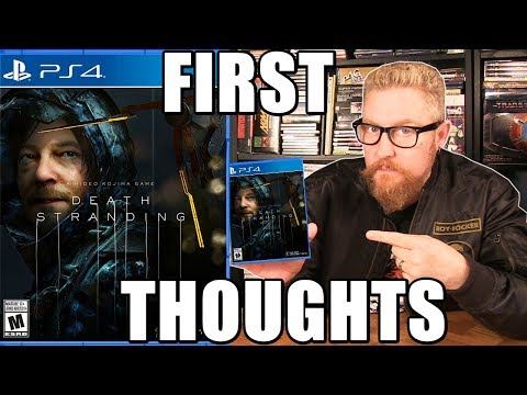 DEATH STRANDING (First Thoughts) - Happy Console Gamer