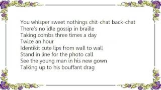 Bauhaus - Small Talk Stinks Lyrics