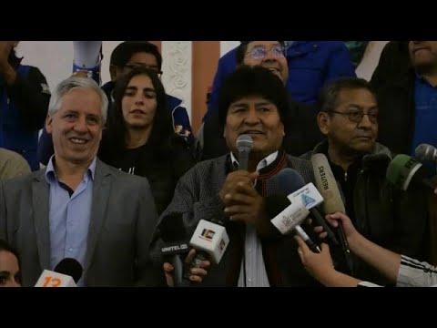 Προεδρικές εκλογές στη Βολιβία: Πανηγύρισαν και οι δύο βασικοί διεκδικητές μετά τον α' γύρο…