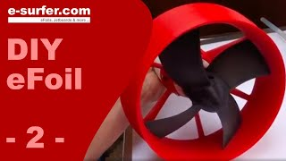 DIY Electric Hydrofoil made in Norway