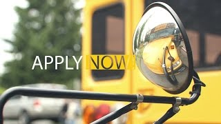 Now Hiring – Substitute Bus Drivers