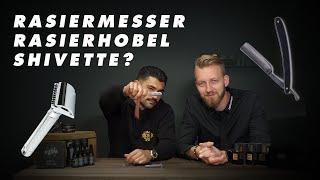 Rasiermesser vs. Shivette vs. Rasierhobel I Charlemagne Premium