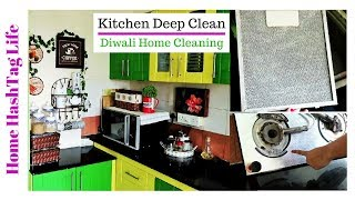 Diwali Cleaning Tips | Diwali Mein Kitchen Ki Safai Kaise Kare (English Subtitle)
