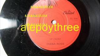 Diana Ross - up front 45 rpm