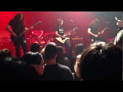 Sanitarius - Tails of the Wicked (Live Gramercy Theater 5/4/12) opening for Sabaton