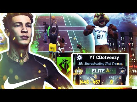 A 99 OVERALL PULLED UP on my STRETCH BIG TWICE!!!  NBA2K19