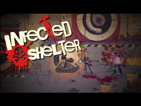 INFECTED SHELTER | Stylish Side Scrolling Beat'em Up | Infected Shelter Gameplay!