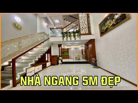 BÁN  NHÀ THỐNG NHẤT P16 5M x 12M TRỆT LỮNG 3 LẦU 5PN HẺM 6M HƯỚNG BẮC 7.18 TỶ
