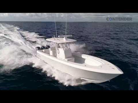 Contender 35 ST video