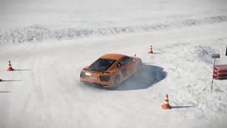 Audi R8 V10 Snow Fun - RacingNL Short Clips #30
